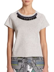 Milly Embellished Tee