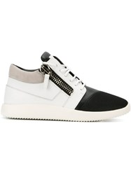 Giuseppe Zanotti Design Runner Hi Top Sneakers White