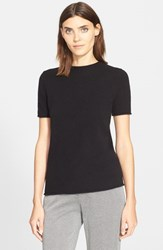 Women's Theory 'Tolleree' Short Sleeve Cashmere Pullover