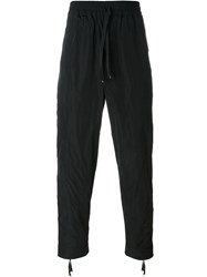 Blood Brother Drawstring Track Pants Black