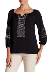Nanette Lepore Ladies Night Blouse Black