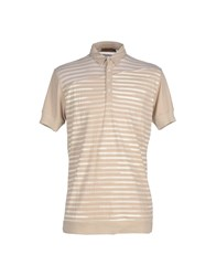 Cnc Costume National C'n'c' Costume National Topwear Polo Shirts Men Beige