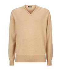 Harrods Of London Cashmere V Neck Sweater Male