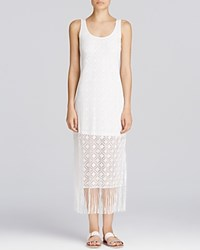 Profile By Gottex Charleston Lace Dress Swim Cover Up Ivory
