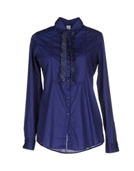 Etichetta 35 Shirts Shirts Women Bright Blue