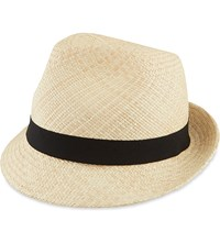 The Kooples Panama Straw Hat Beige