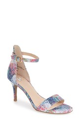 Women's Bp. 'Luminate' Open Toe Dress Sandal Pastel Pale Blue Fabric