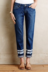 Anthropologie Paige Jimmy Jimmy Painted Jeans Painted Stripe