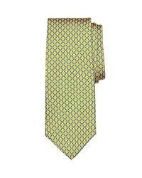 Brooks Brothers Lifesaver Link Classic Tie Yellow