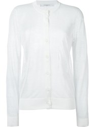 Givenchy Lightweight Cardigan White