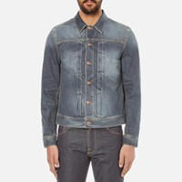 Nudie Jeans Men's Sonny Trucker Jacket Blue Friend