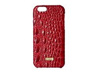 Iphone 6 Case Carmine Red Cell Phone Case Brown