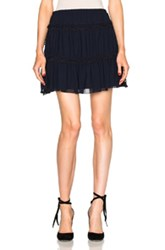 See By Chloe Mini Skirt In Blue