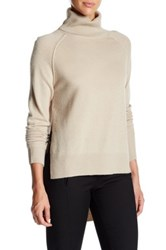 Brochu Walker Lucie Wool And Cashmere Blend Pullover Beige