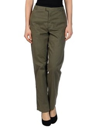 Kristensen Du Nord Casual Pants Military Green