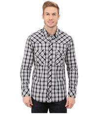 Rock And Roll Cowboy Long Sleeve Snap B2s5416 Black Men's Long Sleeve Button Up