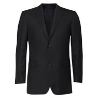 Linea Formal Single Breasted Herringbone Jacket Black