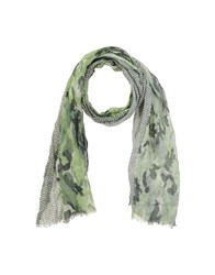 Altea Accessories Oblong Scarves Women Military Green