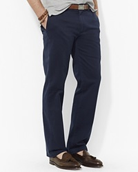Polo Ralph Lauren Flat Front Chino Pants Classic Fit Aviator Navy
