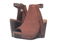 Volatile Venstra Chocolate Women's Wedge Shoes Brown
