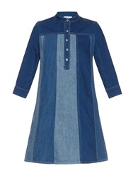 Mih Jeans The Jane Panelled A Line Mini Dress