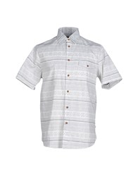 Altamont Shirts Shirts Men White