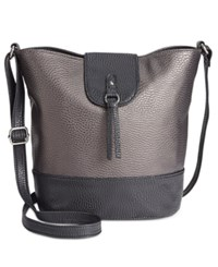 Styleandco. Style Co. Vvini Bucket Bag Only At Macy's Pewter Black
