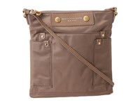 Marc By Marc Jacobs Preppy Nylon Sia Rootbeer Cross Body Handbags Brown