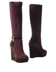 Galliano Boots Mauve