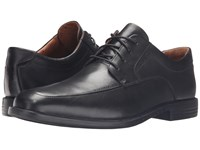 Clarks Un.Bizley View Black Leather Men's Lace Up Wing Tip Shoes