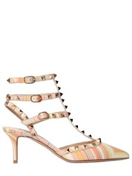 Valentino 65Mm Rockstud Navajo Leather Pumps