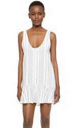 Knot Sisters Jasper Dress Off White
