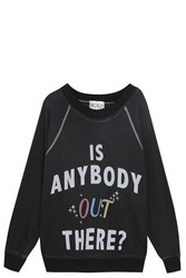 Wildfox Couture Anybody Out There Sweater Black