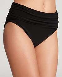 Magicsuit Jersey Shirred Bikini Bottom Black