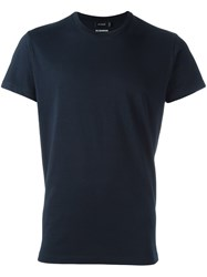 Jil Sander Basic T Shirt Blue