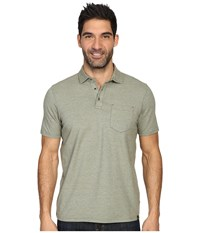Prana Brock Polo Cargo Green Men's Clothing