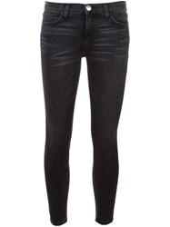 Current Elliott Skinny Jeans Black