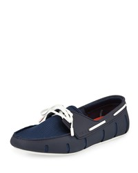 Water Resistant Rubber Loafer Navy Swims