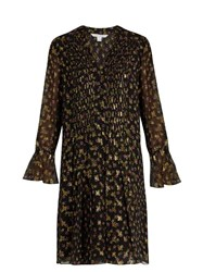 Diane Von Furstenberg Kourtni Dress Black Gold