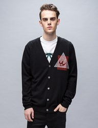Mcq By Alexander Mcqueen Swallow Glype Crew Knit Cardigan