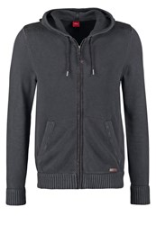 S.Oliver Cardigan Charcoal Anthracite