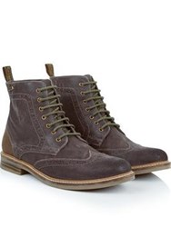 Barbour Belsay Lace Up Boot Brown