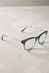 Anthropologie Ett Twa Espen Reading Glasses Blue 1.00X Eyewear