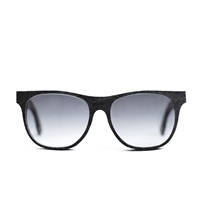 Mosevic Cassini Solid Denim Sunglasses Stone Black