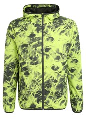 Your Turn Active Sports Jacket Lime Punch Light Green