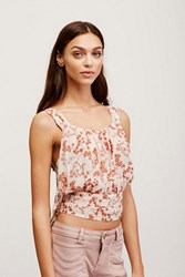 Free People Womens Heart Of The Rose Tank