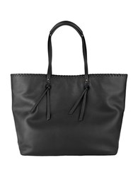 Cole Haan Rumey Leather Tote Black