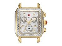 Michele Deco Diamond Two Tone Diamond Dial Silver Gold Two Tone Silver Gold Analog Watches Multi