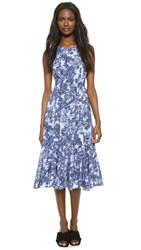 Timo Weiland Emilie Dress Blue Cherry Blossom