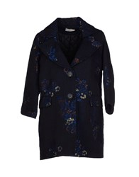 Lou Lou London Full Length Jackets Dark Blue